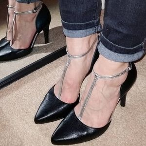 Shoes of Prey T-strap Pumps